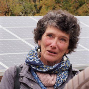 Isabelle Autissier venue saluer «l'énergie citoyenne» de céléWatt