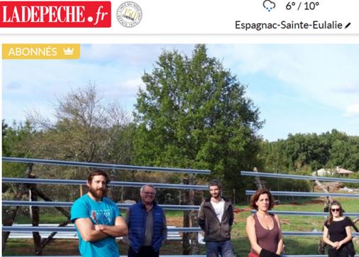 La France des solutions : dans le Lot, CéléWatt fait pousser des parcs solaires citoyens